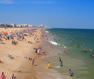 America's Most Crowded Beaches: Ocean City