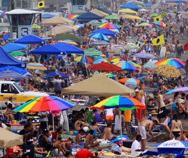 America's Most Crowded Beaches: Oceanside