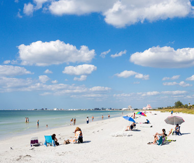 America's Most Crowded Beaches: Pinellas County