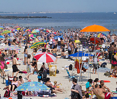 America's Most Crowded Beaches: Rockaway