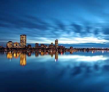 Beautiful U.S. City Skylines: Boston