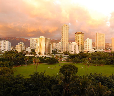 Beautiful U.S. City Skylines: Honolulu