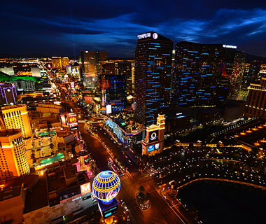 Beautiful U.S. City Skylines: Las Vegas