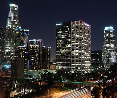 Beautiful U.S. City Skylines: Los Angeles
