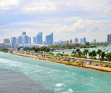 Beautiful U.S. City Skylines: Miami