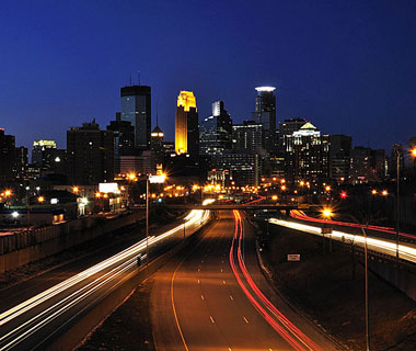 Beautiful U.S. City Skylines: Minneapolis