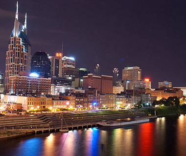 Beautiful U.S. City Skylines: Nashville