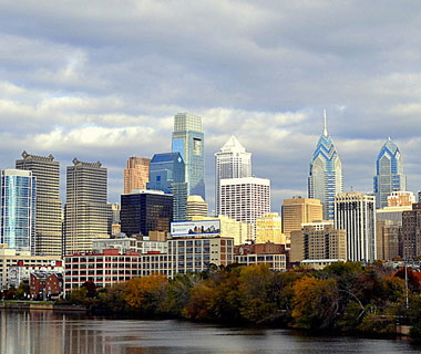 Beautiful U.S. City Skylines: Philadelphia