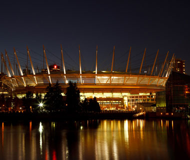 Coolest Olympic Stadiums: BC Place Vancouver