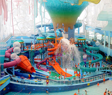 World's Craziest Waterslides: RideHouse, Happy Magic Water Cube Waterpark