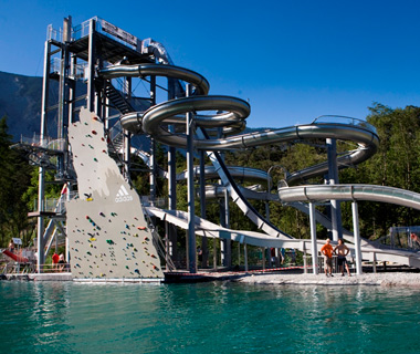 World's Craziest Waterslides: Area47 in Tyrol
