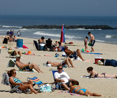 America's Most Crowded Beaches: Belmar, NJ