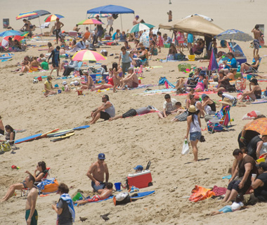 America's Most Crowded Beaches: Seal Beach, CA