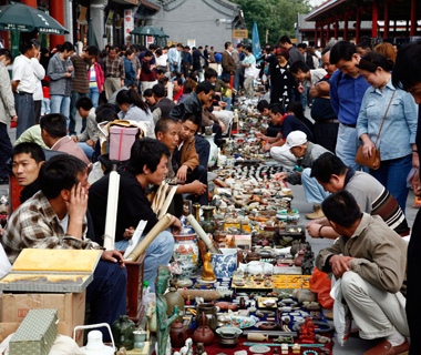World's Coolest Bazaars: Panjiayuan Jiuhuo Shichang