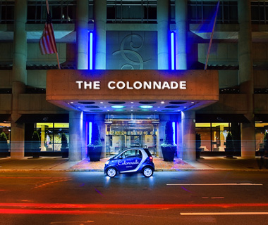 Best Hotels in Boston: The Colonnade Hotel