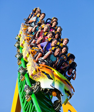 World's Most-Visited Theme Parks: Busch Gardens Tampa Bay