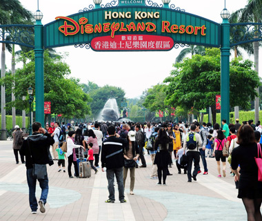 World's Most-Visited Theme Parks: Hong Kong Disneyland