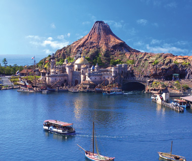 World's Most-Visited Theme Parks: Tokyo Disney Sea