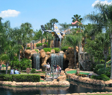 Wackiest Mini-Golf Courses: Congo River Mini Golf