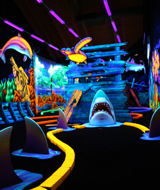 Wackiest Mini-Golf Courses: Wild Abyss Mini-Golf