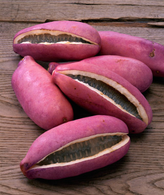 World's Weirdest Exotic Fruits: Akebi