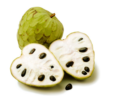 World's Weirdest Exotic Fruits: Cherimoya