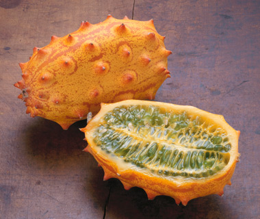 World's Weirdest Exotic Fruits: horned melon