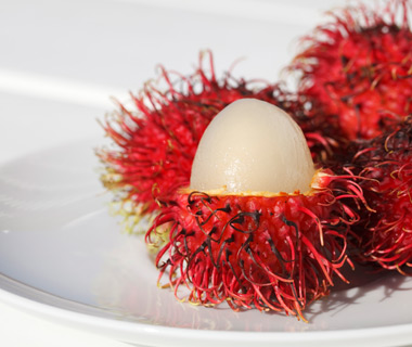 World's Weirdest Exotic Fruits: rambutan