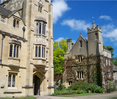 The University of Oxford, England