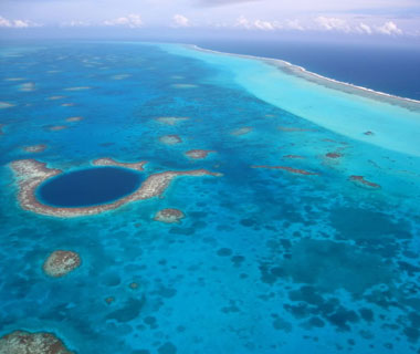 Beautiful Photos from Airplane Windows: San Pedro Island in Belize