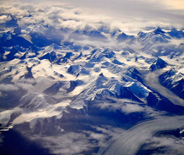 Beautiful Photos from Airplane Windows: Canada