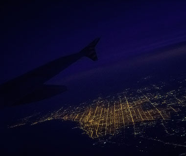 Beautiful Photos from Airplane Windows: Chicago