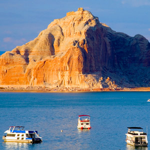 Lake Powell Boating and Floating