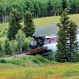 Chama's Historic Steam Train
