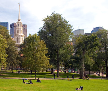 America's Most Popular City Parks: Boston Common