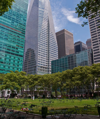 America's Most Popular City Parks: Bryant Park