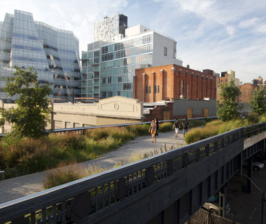 America's Most Popular City Parks: High Line Park
