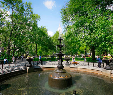 America's Most Popular City Parks: Madison Square Park