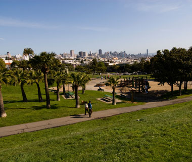 America's Most Popular City Parks: Mission Dolores Park