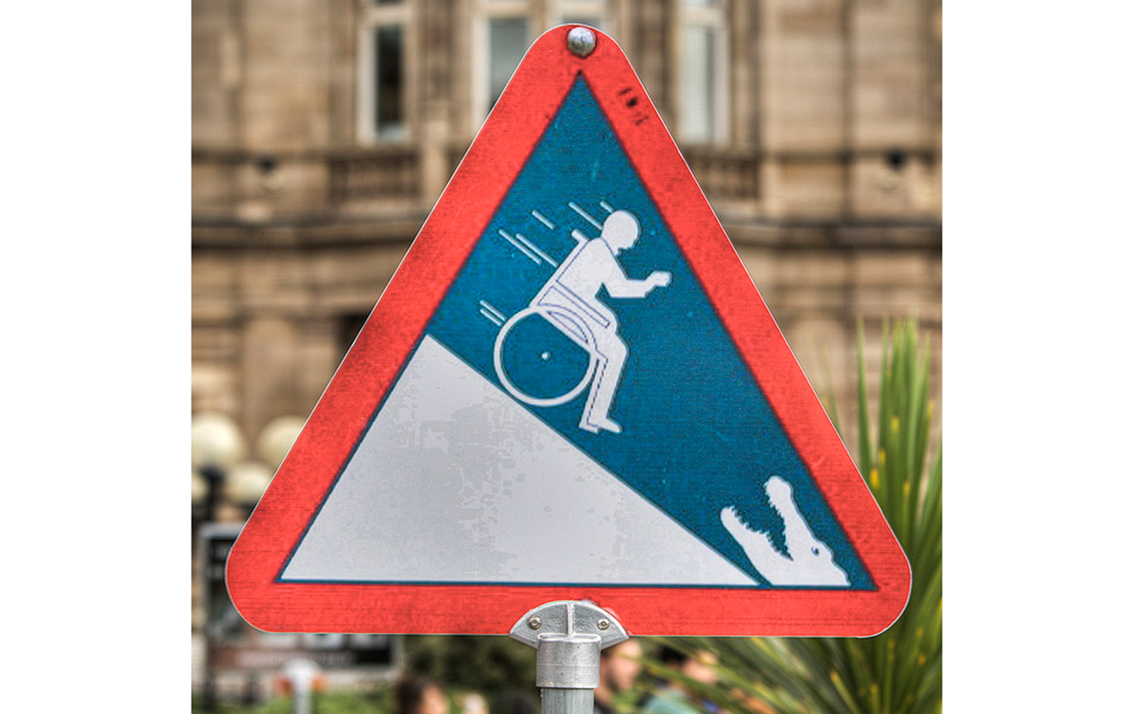 Funny Signs from Around the World: wheelchairs