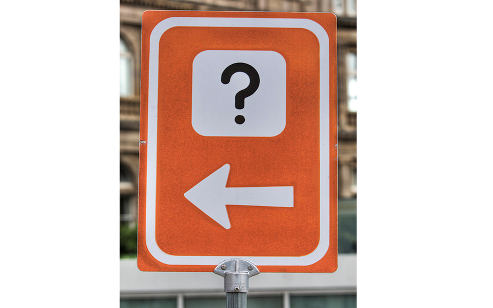 Funny Signs from Around the World: question mark