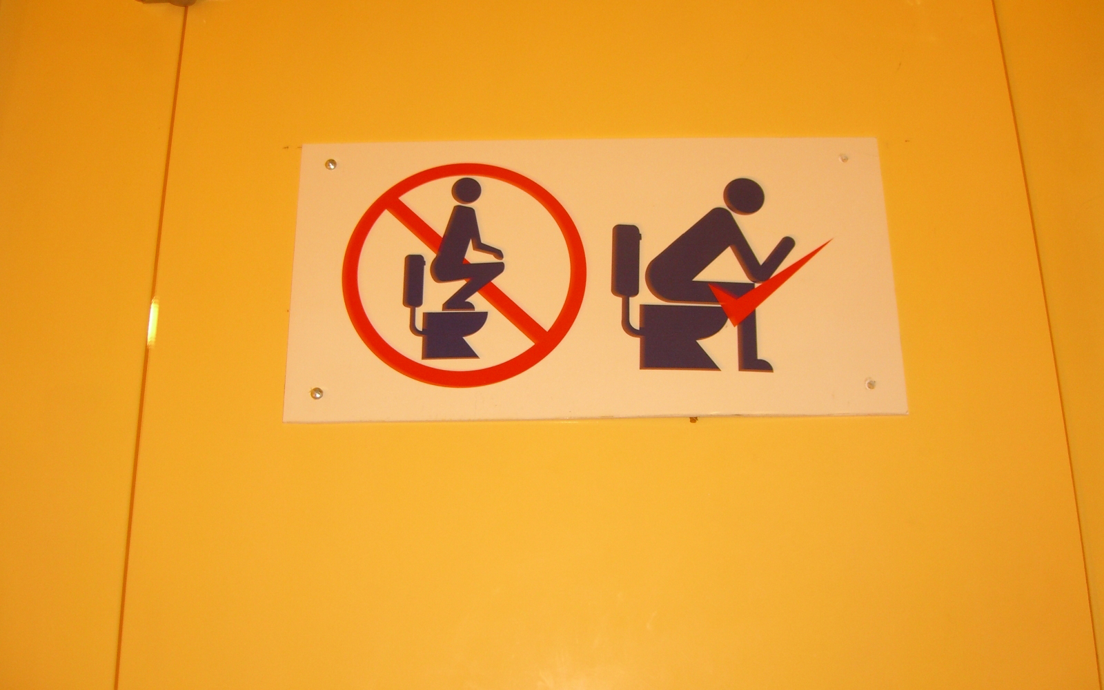 Funny Signs from Around the World: Japanese bathroom