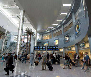 America's Best and Worst Airports for Flight Delays: McCarran International Airport (LAS)