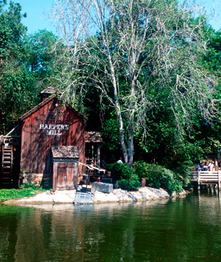 Most Romantic Disney Vacations: Tom Sawyer Island