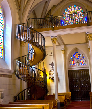 World's Most Mysterious Buildings: Loretto Chapel