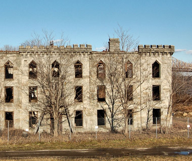 Renwick Hospital, Roosevelt Island, New York City