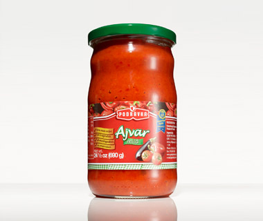 World's Strangest Condiments: ajvar