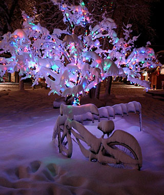 Beautiful Christmas Lights Around the World: Aspen