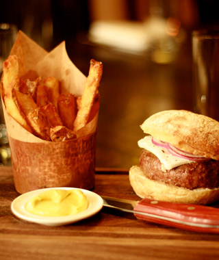 Best French Fries in the U.S.: The Breslin Bar & Dining Room