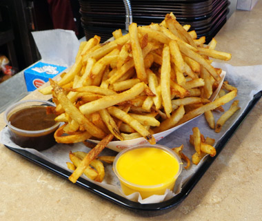 Best French Fries in the U.S.: The Original Hot Dog Shop